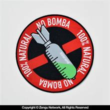 "93 Brand ""No Bomba"" Gi Patch"
